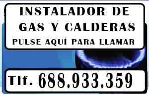 Instalador de Gas en Madrid Urgentes